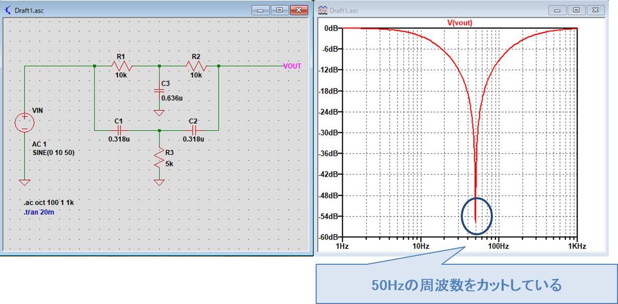 シミュレーション結果AC解析