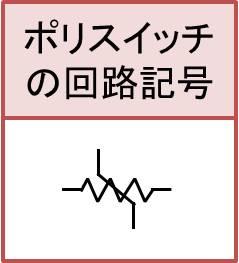 ポリスイッチの回路記号