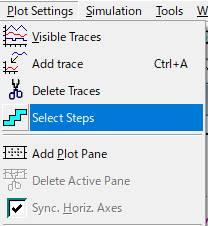 Select Steps