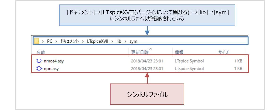【LTspice】シンボルファイル