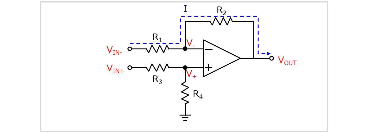 差動増幅回路の導出