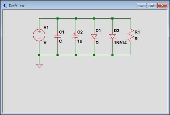 【LTspice】BOM(部品表)の表示する前の回路図