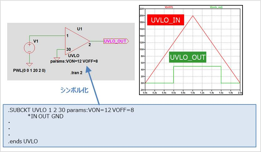 UVLO回路をネットリストで作成する方法02