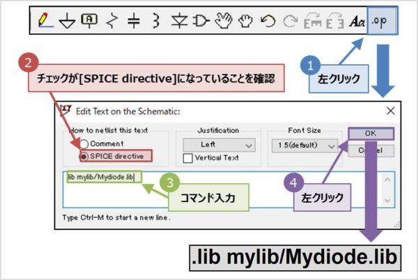 『.libコマンド』と『.inc(.include)コマンド』の記述方法