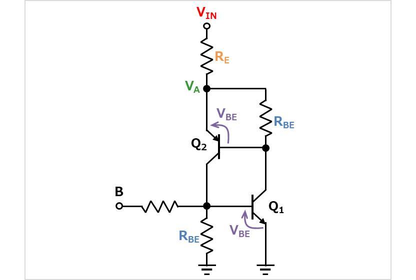 【ラッチ回路】回路図