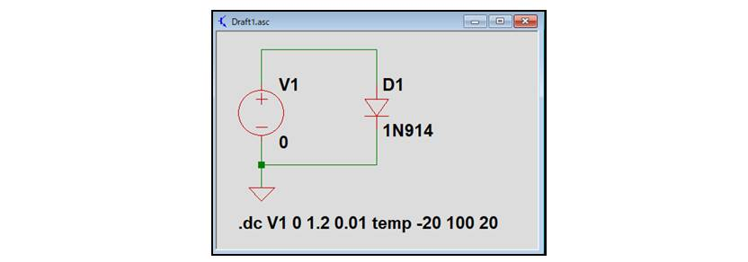 【LTspice】温度をスイープする方法02