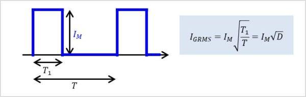 【トライアック】ゲート電流の実効値
