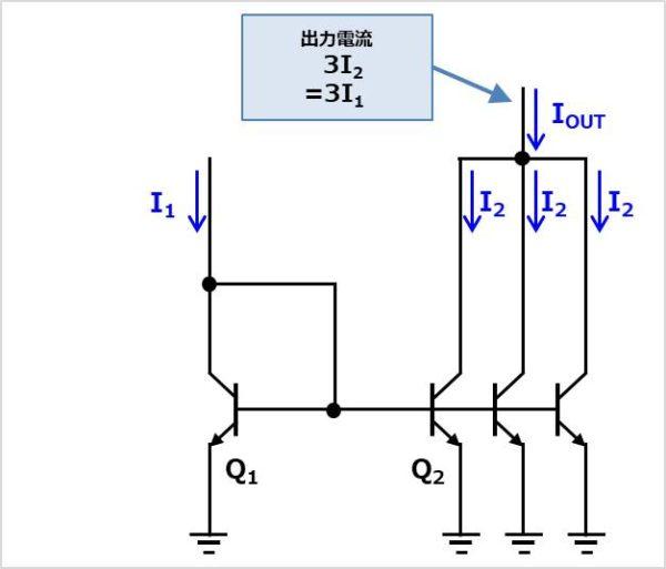 多出力のカレントミラー01