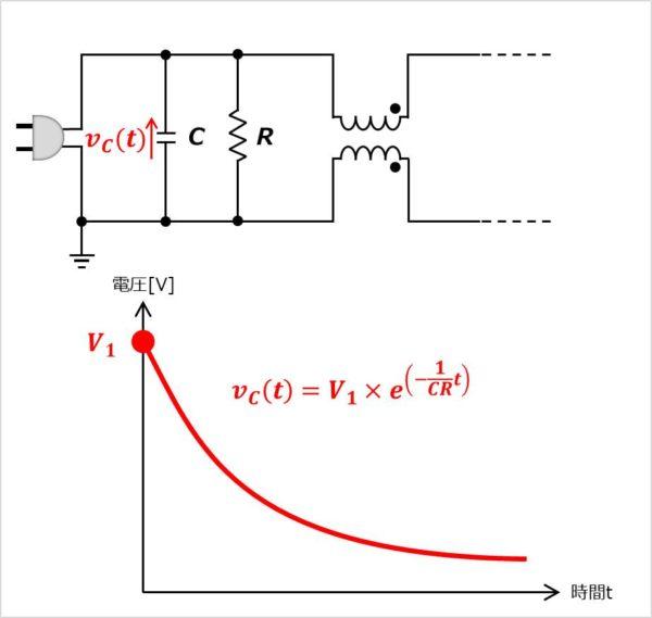 放電抵抗の設計方法