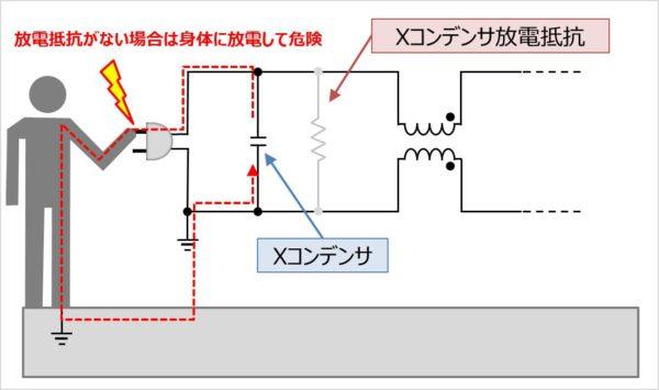 放電抵抗を接続する理由01