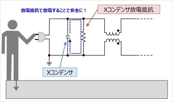 放電抵抗を接続する理由02