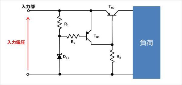 PNPトランジスタを用いたクローバー方式