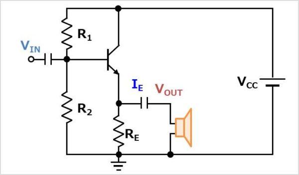 コレクタ接地回路(エミッタフォロワ)の使用用途