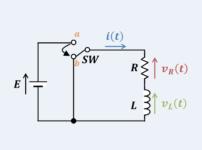 【RL放電回路の微分方程式】『過渡現象』の解き方!