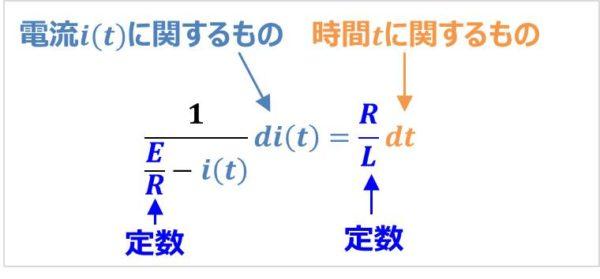 【RL直列回路】『微分方程式』の解き方