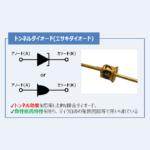 【トンネルダイオード】『原理』や『特徴』などをわかりやすく解説!