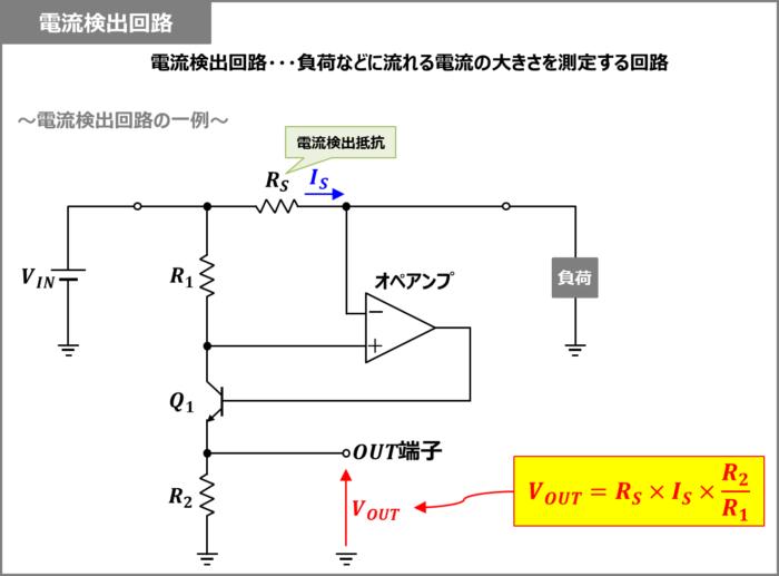 電流検出回路とは
