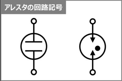 アレスタの『回路記号』